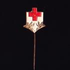 Red Cross Stick Pin 5s