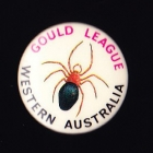 1990 Gould League WA Member Button Badge Pin