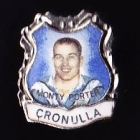 1967 Cronulla Sharks NSWRL Captain Monty Porter Daily Mirror Pin Badge