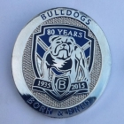 2015 Canterbury Bankstown Bulldogs 80 Years Pin Badge