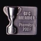 2007 AFL Geelong Cats Member Premiers Pin Badge