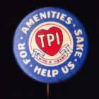 TPI Button Badge 26mm