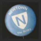 1968 Newtwon Blues NSWRL Supporter Scanlens Button Badge