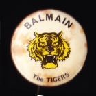 1968 Balmain Tigers NSWRL Supporter Scanlens Button Badge