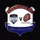2009 State of Origin NSW v QLD Pin Badge