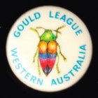 1983 Gould League WA Member Button Badge Pin