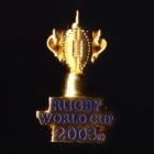 2003 RWC Webb Ellis Cup Pin Badge