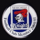 2000-01 Newcastle Knights Supporter Member Pin Badge