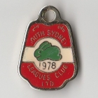 1978 South Sydney Leagues Club Pensioner Member Badge
