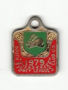 1979 South Sydney Leagues Club Associate Member Badge