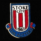 Stoke City EPL Pin Badge