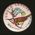 1974 Gould League WA Member Button Badge Pin
