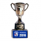 2016 Western Bulldogs AFL Premiers Cup Pin Badge