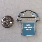 2016 Cronulla Sutherland Sharks NRL Premiers Jersey Pin Badge
