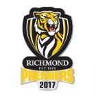 2017 Richmond Tigers AFL Premiers Logo Pin Badge