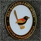 2015 BirdLife Sth Qld Red-Backed Fairy Wren Pin Badge
