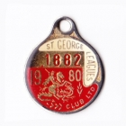 1980 St George Leagues Club Member Badge