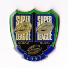 1997 WCC Super League Bulldogs v Penrith Pin Badge