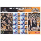 2005 Wests Tigers NRL Premiers Souvenir Stamp Sheet
