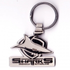 2006 Cronulla Sutherland Sharks NRL 40th Anniversary Keyring Badge