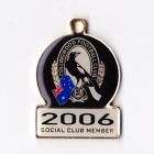 2006 Collingwood Magpies AFL Member Badge