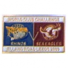 2009 WCC Sea Eagles v Leeds Pin Badge c