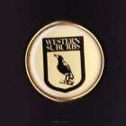 1992 Western Suburbs Magpies NSWRL Billy Tea Pin Badge