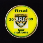 2009 Australia RL Four Nations Final Pin Badge