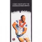 2011 St George Illawarra NRL Melbourne Based Dragons Card