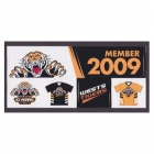 2009 Wests Tigers NRL Member Stickers