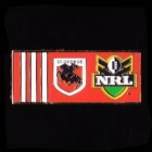 2010 St George Illawarra Dragons NRL Away Pin Badge