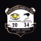 2008 RLWC Final New Zealand v Australia Pin Badge