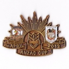 2012 NRL ANZAC Day Dragons v Roosters Pin Badge