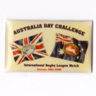 2008 Australia Day Challenge Rabbitohs v Leeds Arminco Pin Badge