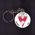 2001 Sydney Swans AFL Member Keyring Badge