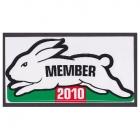 2010 South Sydney Rabbitohs NRL Member Sticker