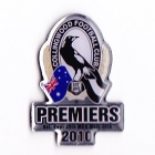 2010 Collingwood Magpies AFL Premiers Pin Badge b