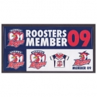 2009 Sydney Roosters NRL Member Stickers