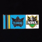 2010 Gold Coast Titans NRL Home Pin Badge