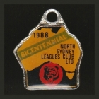 1988 North Sydney Leagues Club Member Badge