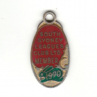 1970 South Sydney Leagues Club Member Badge