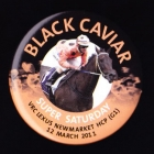2011 VRC Black Caviar Super Saturday Button Badge