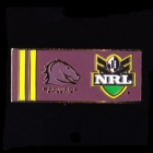 2010 Brisbane Broncos NRL Home Pin Badge
