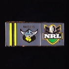 2010 Canberra Raiders NRL Away Pin Badge