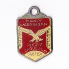 1967-68 Manly Warringah Leagues Club Member Badge