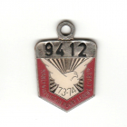 1973-74 Manly Warringah Leagues Club Member Badge