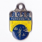 1980 Parramatta Leagues Club Member Badge