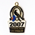 2007 Collingwood Magpies AFL Supporter Member Badge