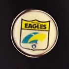 1991 West Coast Eagles AFL Billy Tea Pin Badge
