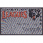 2000 North Sydney Leagues Club and Seagulls Member Card